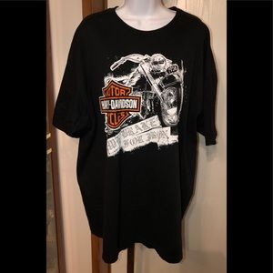 Harley Davidson men's T-shirt 2XXL Excellent!